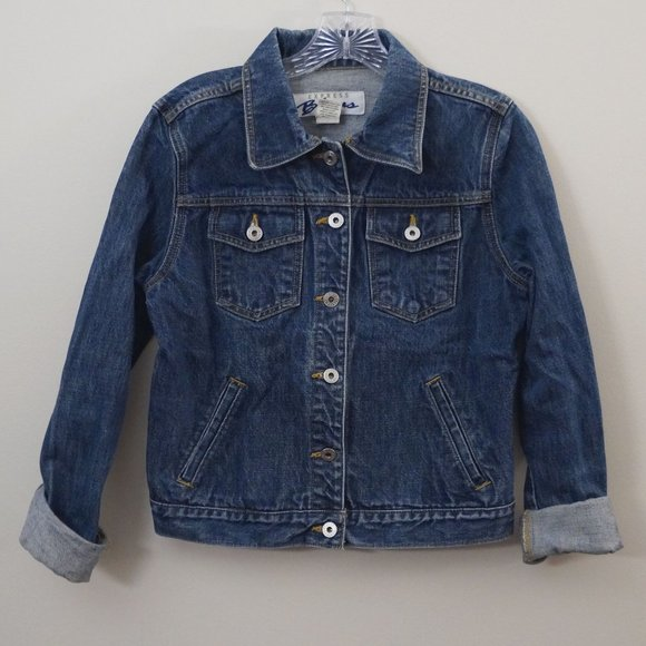 Express Jackets & Blazers - 3/$20 Express Bleus Jean Jacket Dark Wash Denim